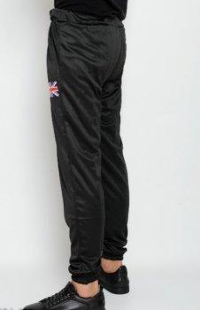 Спортивные штаны с принтом ISSA PLUS GN-75  Черные ( GN-75 )