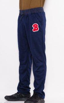 Спортивные штаны прямые с нашивкой ISSA PLUS GN-333  Темно-синий ( GN-333 )