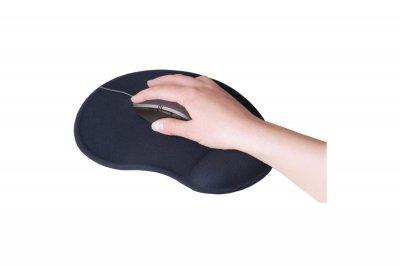 Килимок для мишки SVEN GL009BK гелевий з підтримкою для кисті руки Чорний