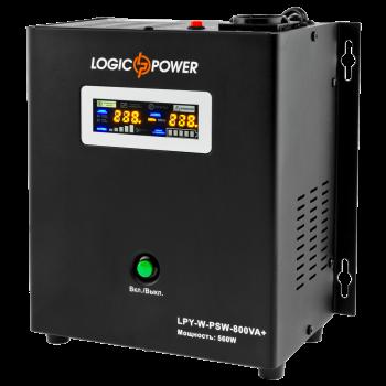 Джерело безперебійного живлення LogicPower LPY-W-PSW-800VA+(560Вт)