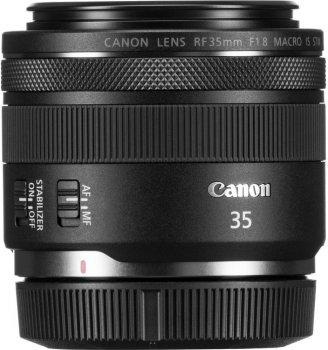 Canon RF 35 mm f/1.8 MACRO IS STM Black Офіційна гарантія! (2973C005AA)