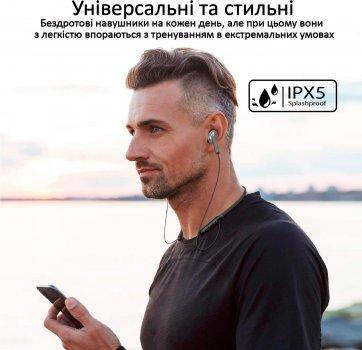 Навушники Promate Bluetooth 5 Quartz IPX5 Grey (quartz.grey)