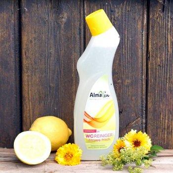 Очисний засіб AlmaWin для туалету (гель) з ароматом лимона 750 мл (4019555705649)