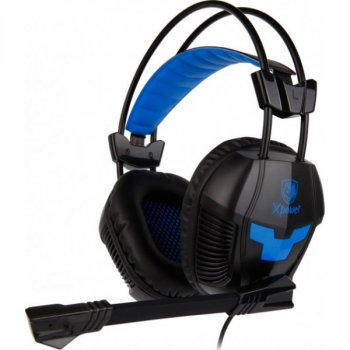 Навушники Sades SA-706 Xpower Black/Blue Б/У