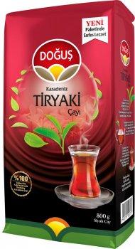Чай турецкий черный Dogus Tiryaki Нежный крупнолистовой 500 г (8690719100799)