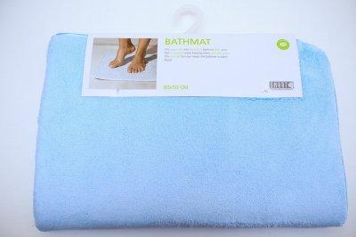 Килимок для ванної кімнати 50 х 80 см Швеція Smart Блакитний (038)