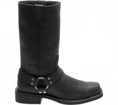 Чоловічі чоботи Harley-Davidson Bowden Riding Boot Black Full Grain Leather (117504)