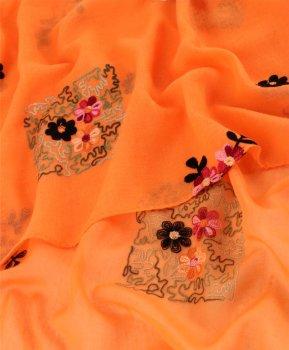 Шаль Traum 2494-501 Оранжевая (4820024945011)