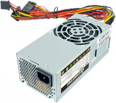 Блок питания Chieftec 250W GPF250P 80mm 20+4pin 1x4pin SATA х 2 Molex 2x4pin кабеля немодульные