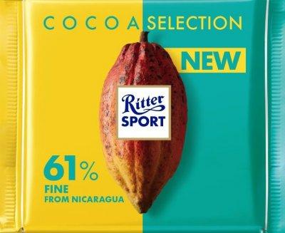 Шоколад Ritter Sport вишуканий темний 61% какао 100 г (4000417932006)