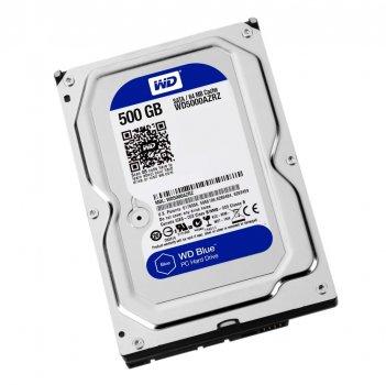 Жорсткий диск 3.5' 500Gb Western Digital Blue SATA3 64Mb 5400 rpm WD5000AZRZ (148695)