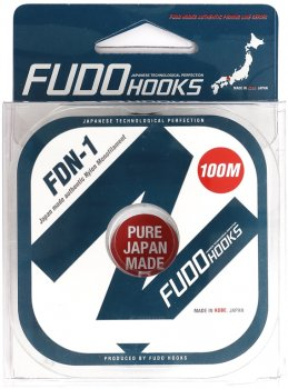 Леска Fudo Hooks FDN-1 100 м 0.128 мм 2.14 кг (FHFDN0128)
