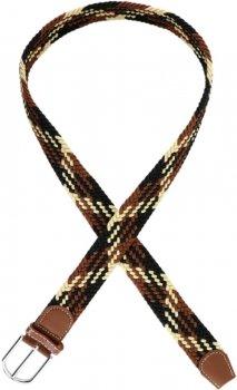 Ремень Trаum 8718-23 100 см 100 см Черно-коричневый с бежевый (4820008718235)