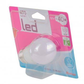 Лампа LED Auchan 5,7 W E27 5000К