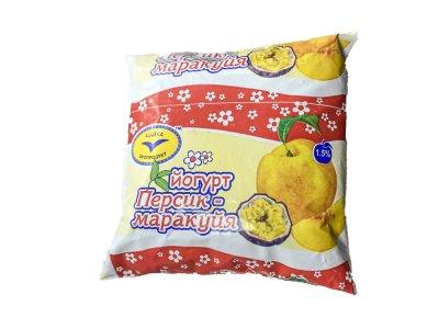 Йогурт Чайка Персик-Макакуйя 1.5 % 500 г