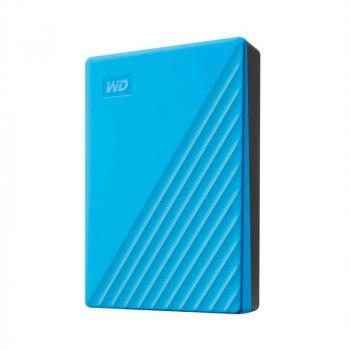 Накопичувач зовнішній HDD 2.5 USB 4.0 TB WD My Passport Blue (WDBPKJ0040BBL-WESN)