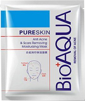 Набор масок BioAqua Pure Skin Acne & Rejuvenation Moisturizing Mask 30 г х 3 шт (2000000207230)