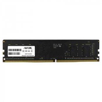 Модуль пам'яті для комп'ютера DDR4 4GB 2666 MHz Afox (AFLD44FK1P)