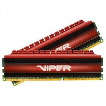 Модуль пам'яті для комп'ютера DDR4 16GB (2x8GB) 3400 MHz Viper 4 Patriot (PV416G340C6K)