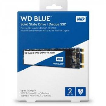 Накопичувач SSD M. 2 2280 2TB WD (WDS200T2B0B)