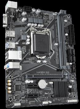 Материнська плата Gigabyte H410M S2 (s1200, Intel H410, PCI-Ex16)