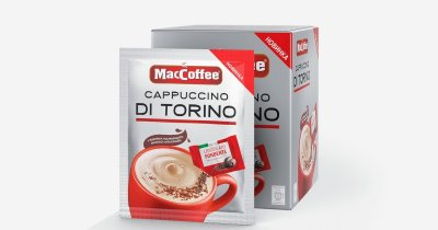MacCoffee Cappuccino di Torino с шоколадной крошкой, 25г*20 (172153)