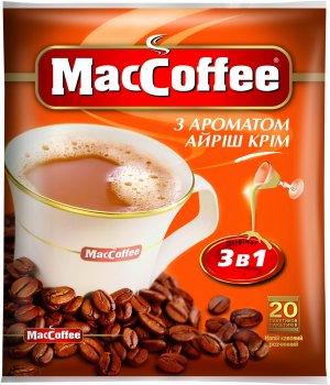 Кофе MacCoffee 3 в 1, Irish Cream 20 стиков (170407)