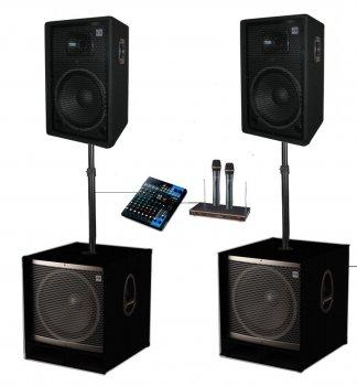 Комплект потужної акустики Sound Division Turbo 2000Full 2400Вт