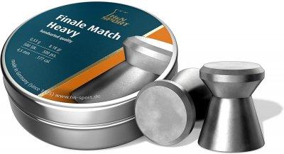 Кулі пневматичні H&N Finale Match Heavy Кал 4.5 мм Вага - 0.53 м 500 шт/уп (1453.02.64)