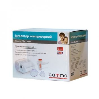 Ингалятор компрессорный Gamma Effect NEW для детей