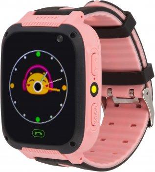 Смарт-годинник Discovery iQ4200 Camera LED Light GPS Pink