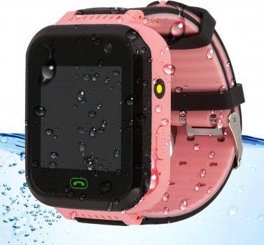 Смарт-годинник Discovery iQ4400iP Hydro Camera LED Light GPS Pink