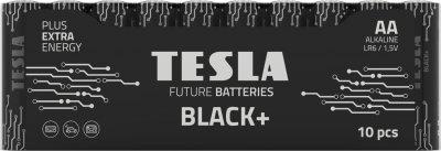 Батарейки Tesla AA BLACK+ 10 MULTIPACK (LR06 / SHRINK) 10 шт (8594183396637)