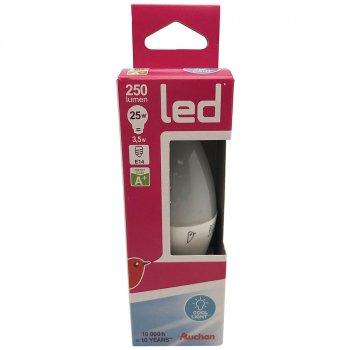 Лампа Auchan світлодіодна 3,5 Вт, E14, 6400 К