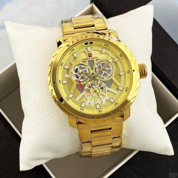 Наручний годинник AlexMosh чоловічі Naviforce NF9158 All Gold (44)