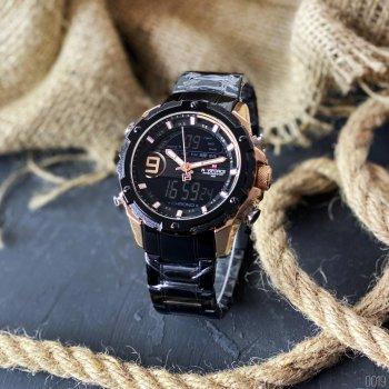 Наручний годинник AlexMosh чоловічі Naviforce NF9163 All Black (40)