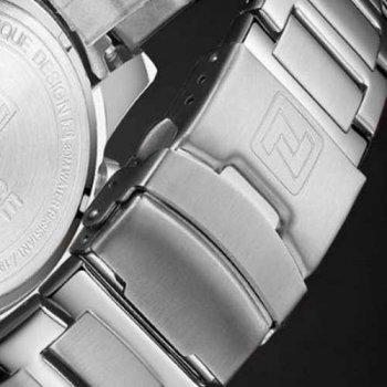 Наручний годинник AlexMosh чоловічі Naviforce NF9163 Silver-Black (35)
