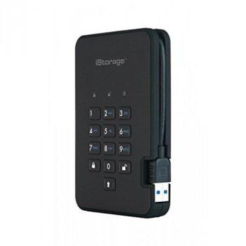 iStorage diskAshur2 256-bit 5TB - Black