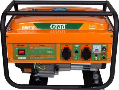 Генератор бензиновый Grad 2.5/2.8кВт 4-х тактный, ручной запуск (5710915)