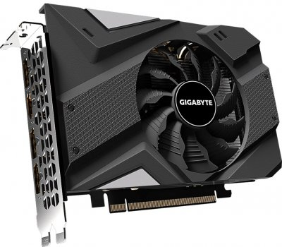 Gigabyte PCI-Ex GeForce RTX 2060 Mini ITX 6GB GDDR6 (192bit) (1680/14000) (HDMI, 3 x DisplayPort) (GV-N2060IX-6GD)