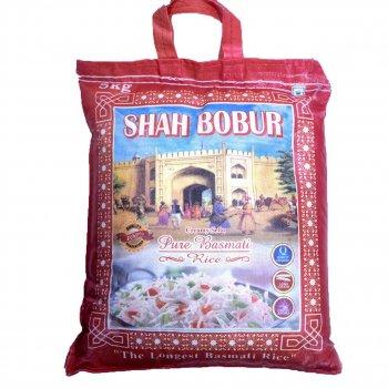 Рис Басмати SHAH BOBUR мешок пропаренный 5 кг