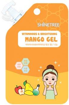 Гель для лица Shinetree Sqeeze&Go Витаминный с экстрактом манго 12 г (8809120648008)
