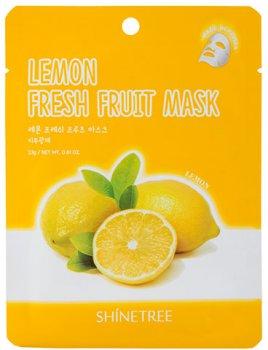 Маска для лица Shinetree Fresh Fruit с экстрактом лимона 23 г (8809443251152)