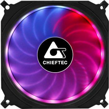 Набір Chieftec RGB-вентиляторів Tornado 3in1 (CF-3012-RGB)