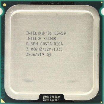 Процесор Intel Xeon E5450 (c0) (SLANQ), б/у