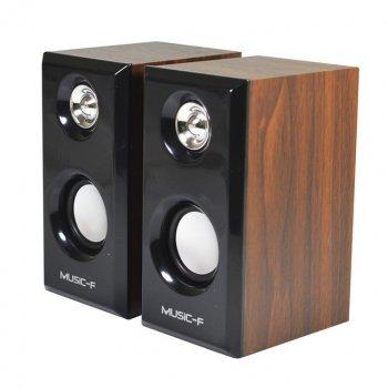 Колонки для PC 2.0 AFG D-0920 Premium, чорні, акустика, акустична система, музичний центр, Bluetooth ( блютус), для будинку, дачі, кафе, природи, акумуляторні, комп'ютерні