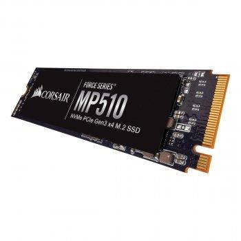 Накопичувач SSD 960GB M. 2 NVMe Corsair Force Series MP510 M. 2 2280 PCIe Gen3.0 x4 3D TLC (CSSD-F960GBMP510B)