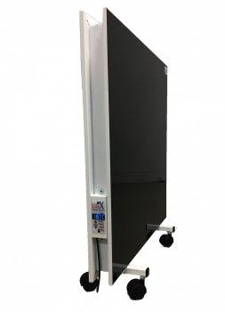Підлоговий керамічний обігрівач LIFEX ПКП800 R (чорний) двосторонній обігрівач з терморегулятором