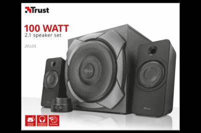 Акустична система Trust Zelos 100Watt 2.1 Speaker Set(21749)