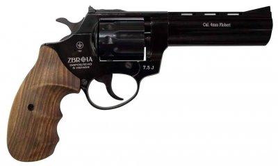 """Револьвер под патрон Флобера PROFI-4.5"""" черн/бук"""